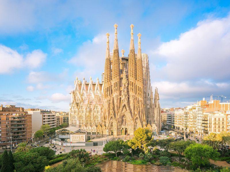ОСаграде Фамилии— детям - экскурсия в Барселоне