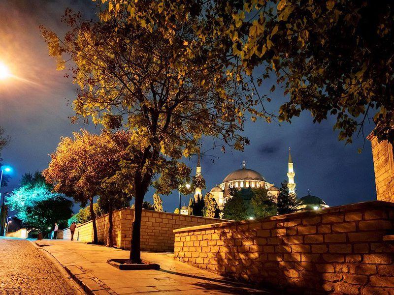 Магия турецкой ночи — огни Стамбула - экскурсия в Стамбуле