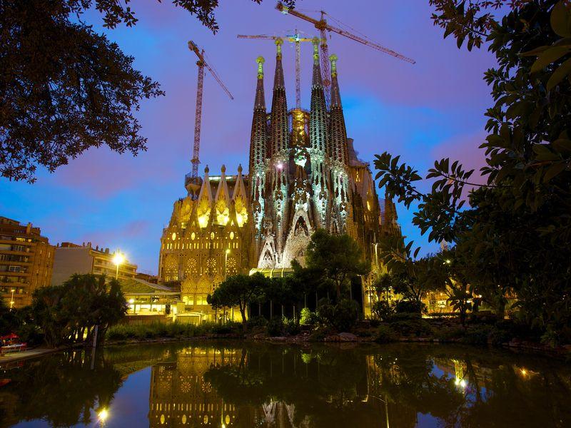 Ночная Барселона - экскурсия в Барселоне