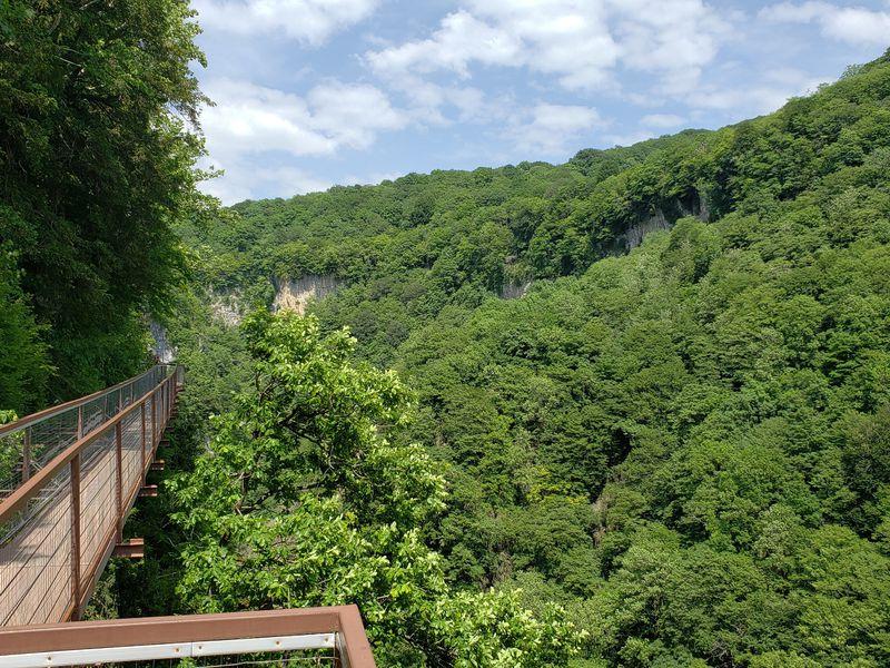 Пещера Прометея иканьоны Грузии - экскурсия в Кутаиси