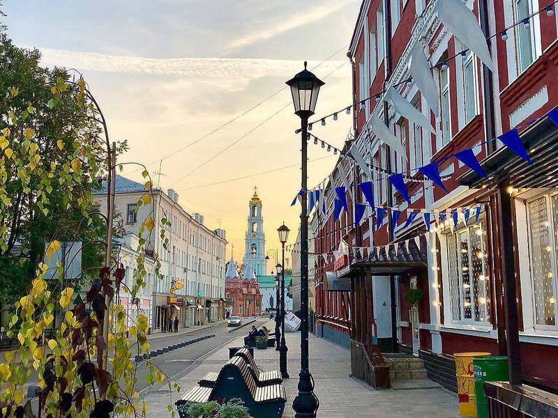 Пешком по улочкам Сергиева Посада - экскурсия в Сергиевом Посаде