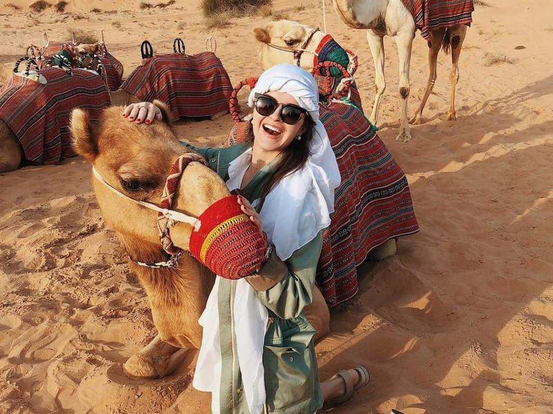 Индивидуальное сафари подубайским дюнам - экскурсия в Дубае
