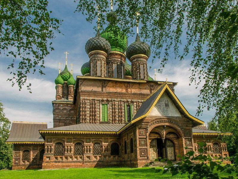 Монастыри ихрамы земли Ярославской - экскурсия в Ярославле