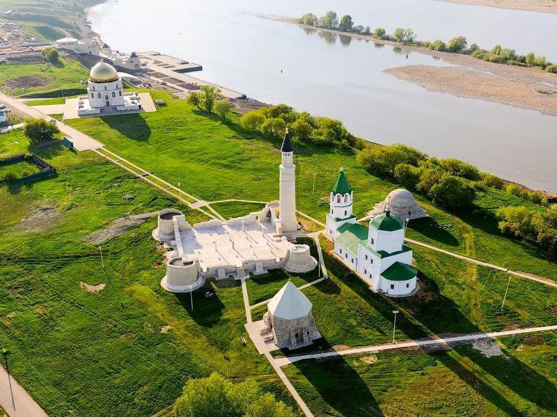 Вдревний Болгар натеплоходе - экскурсия в Казани