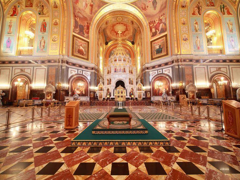 Групповой тур вХрам Христа Спасителя - экскурсия в Москве