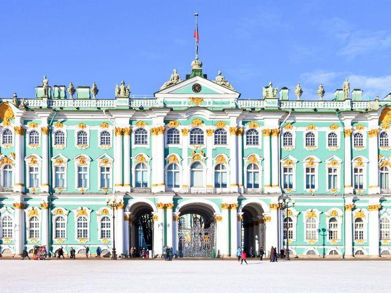 Обзорная автобусная экскурсия по Петербургу + посещение Эрмитажа - экскурсия в Санкт-Петербурге