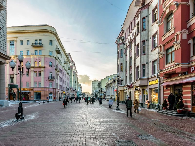 Истории двух Арбатов - экскурсия в Москве
