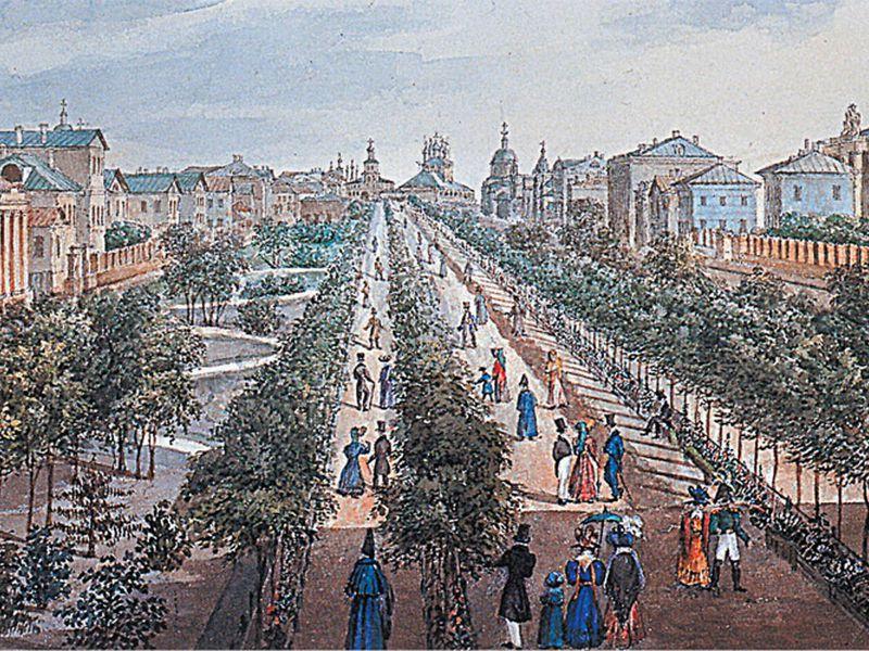 Романтическая прогулка по Тверскому бульвару - экскурсия в Москве
