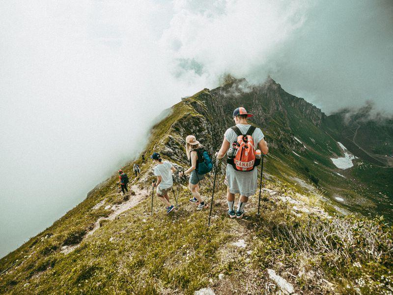 Трекинг квершинам хребта Аибга - экскурсия в Сочи