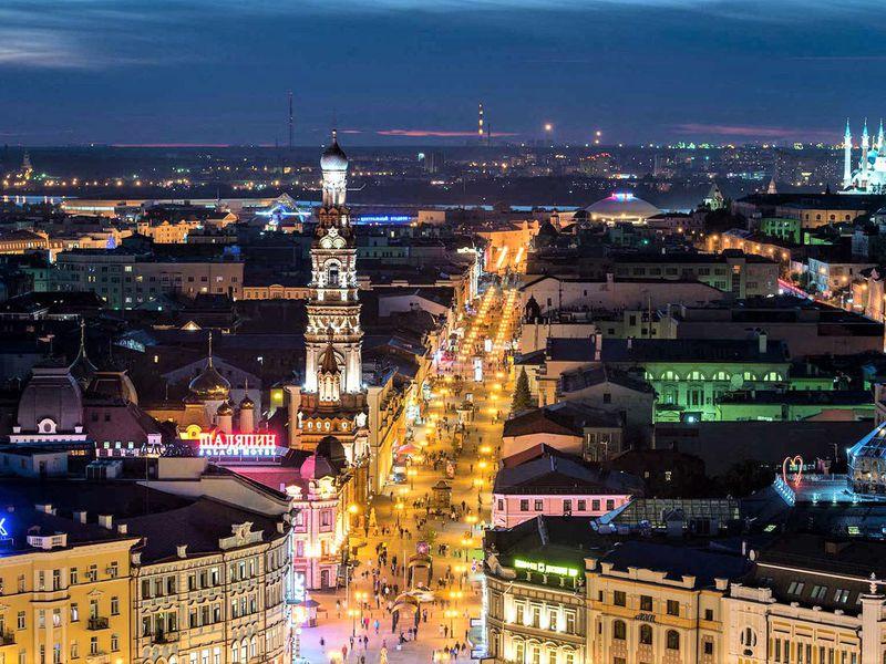Групповая вечерняя поездка поКазани - экскурсия в Казани