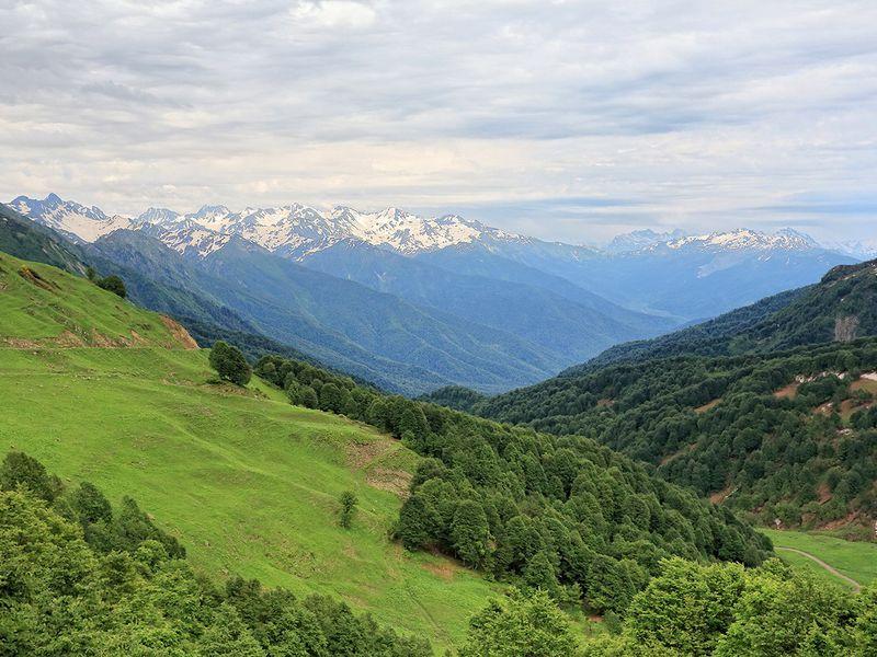 Джип-приключение по заповедной высокогорной Абхазии! - экскурсия в Сочи
