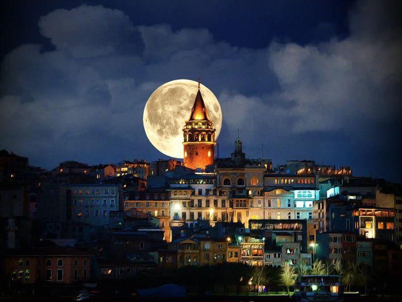 По ночному Стамбулу на автомобиле! - экскурсия в Стамбуле