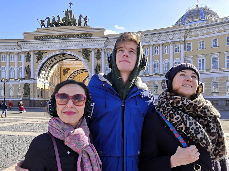 Иммерсивная прогулка по улицам Петербурга - экскурсия в Санкт-Петербурге
