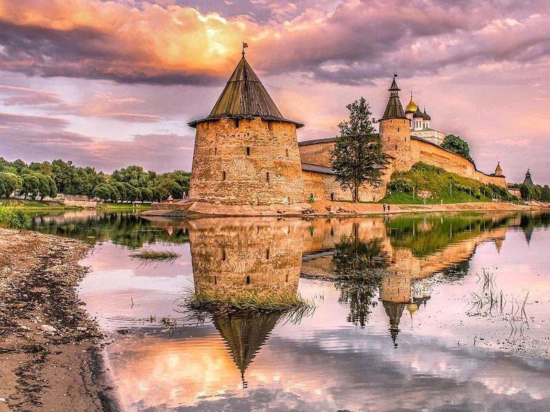 Псков — Ольгин град нареке Великой - экскурсия в Пскове