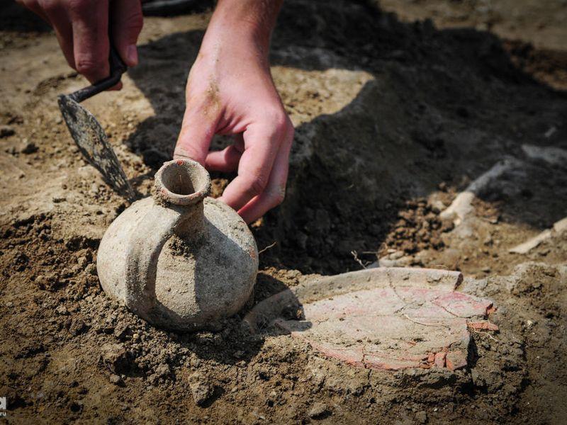 Археологические раскопки в Пскове. Путешествие в глубину веков - экскурсия в Пскове