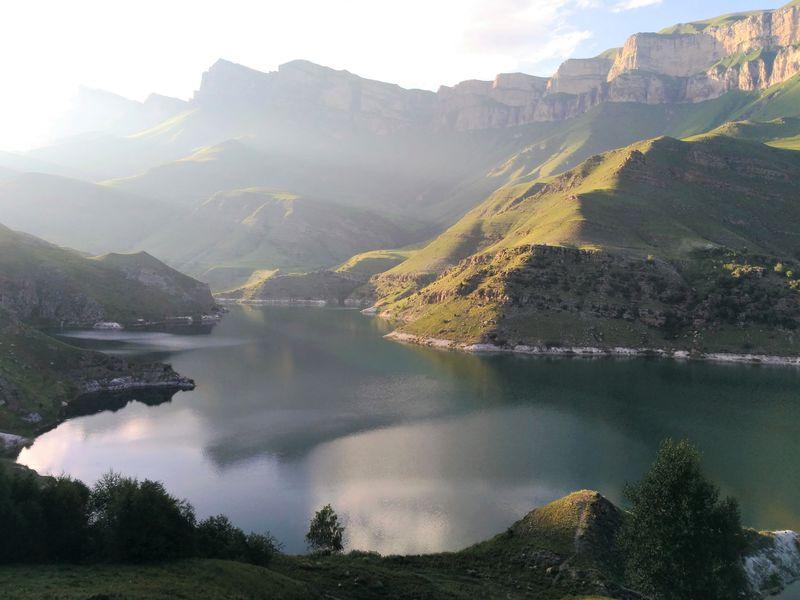 Джип-тур сквозь облака! Озеро Гижгит и Чегемские водопады - экскурсия в Пятигорске