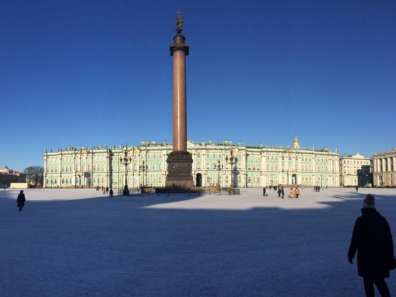 Архитектура площадей - экскурсия в Санкт-Петербурге