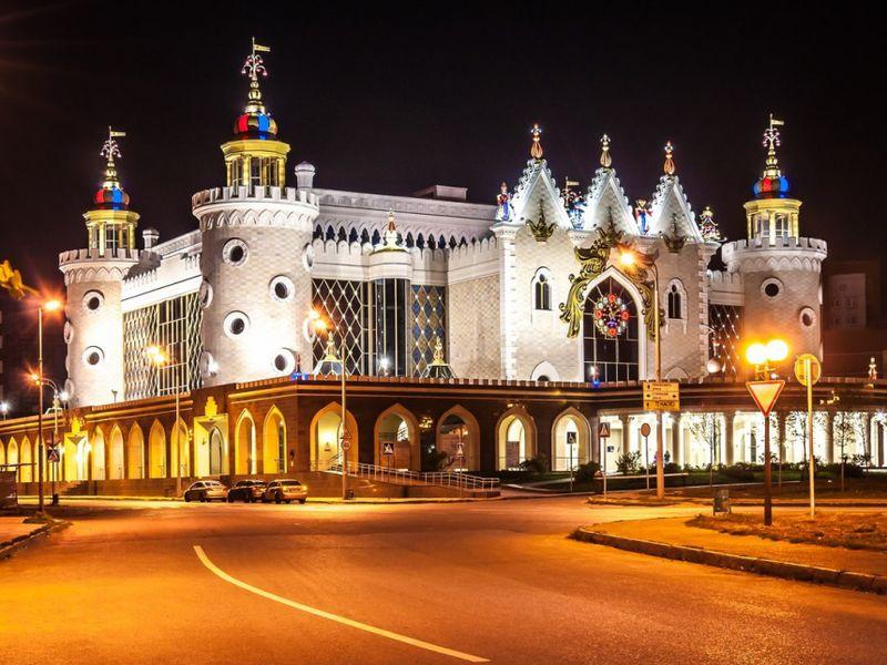 Красавица Казань в вечерних огнях - экскурсия в Казани