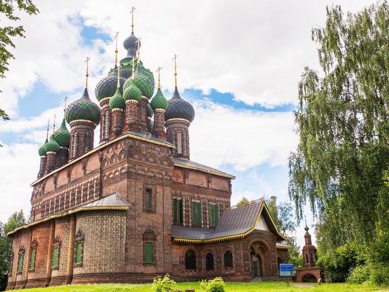 Ярославское узорочье - экскурсия в Ярославле