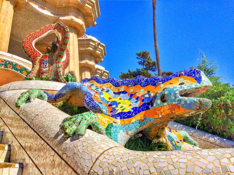 Самые известные шедевры Гауди за3часа - экскурсия в Барселоне