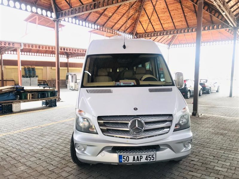 Групповой трансфер из аэропортов Кайсери и Невшехира к отелям Каппадокии - экскурсия в Каппадокии