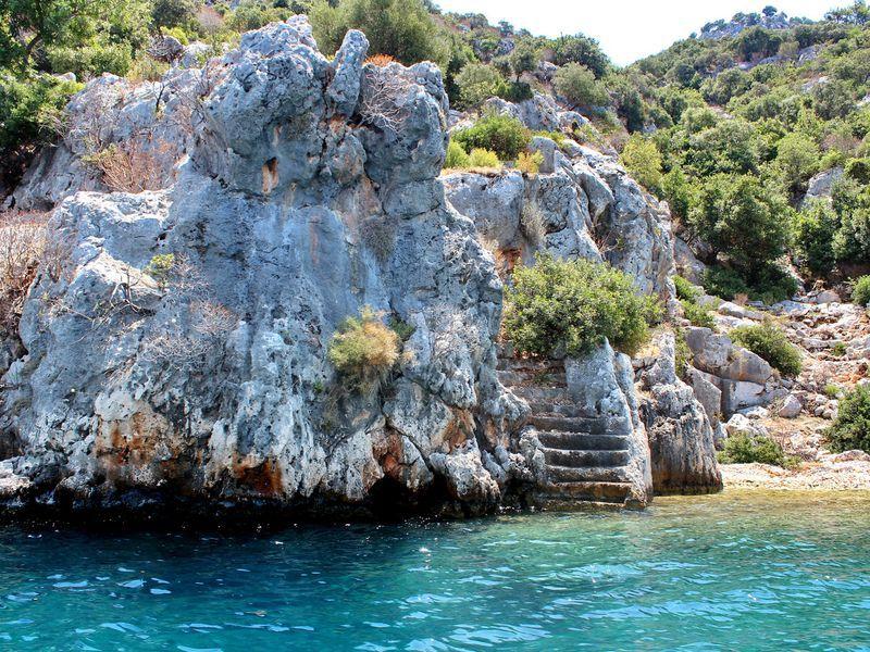 Из Анталии в Миру, Демре и на остров Кекова - экскурсия в Анталии