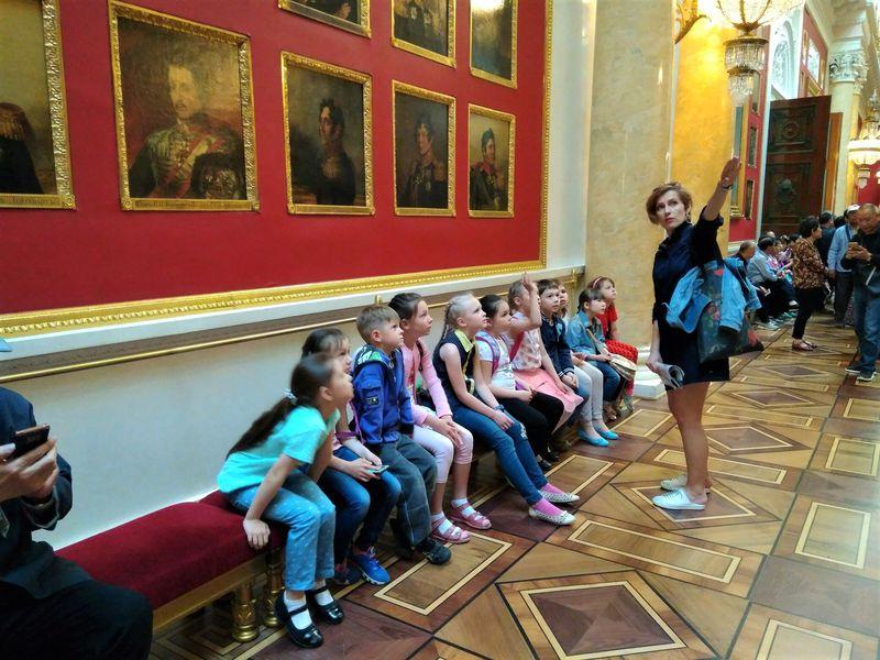 Эрмитаж для детей и взрослых - экскурсия в Санкт-Петербурге
