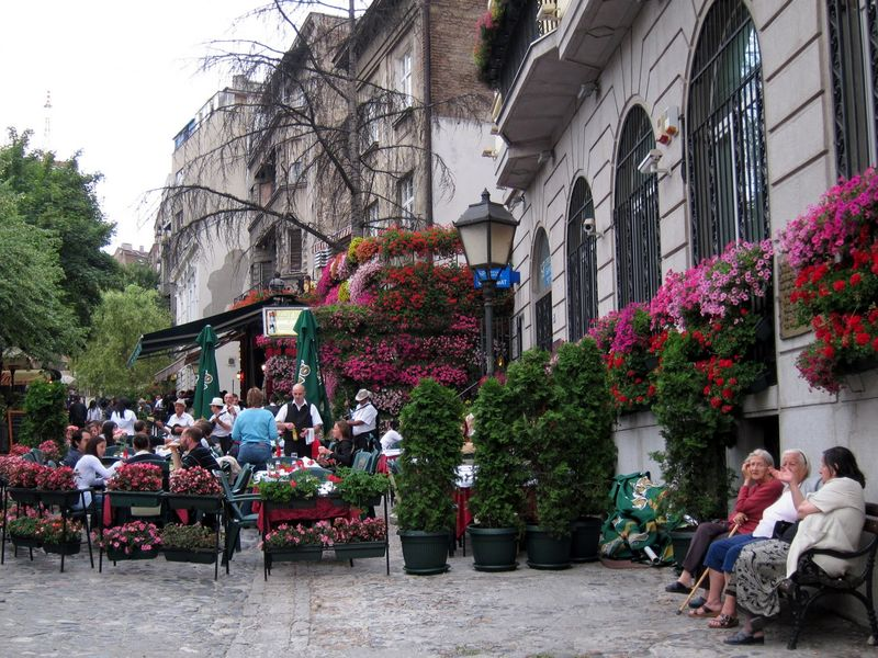 Первое знакомство с Белградом - экскурсия в Белграде