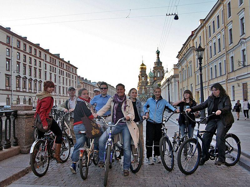 Вело-экскурсия «Весь Петербург за 2 часа» - экскурсия в Санкт-Петербурге