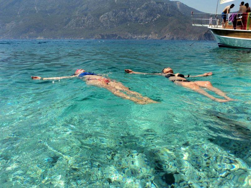 Прогулка на яхте и отдых на райском острове Сулуада - экскурсия в Кемере
