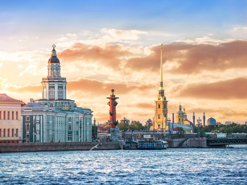 Автобусная экскурсия: центр иПетропавловская крепость - экскурсия в Санкт-Петербурге