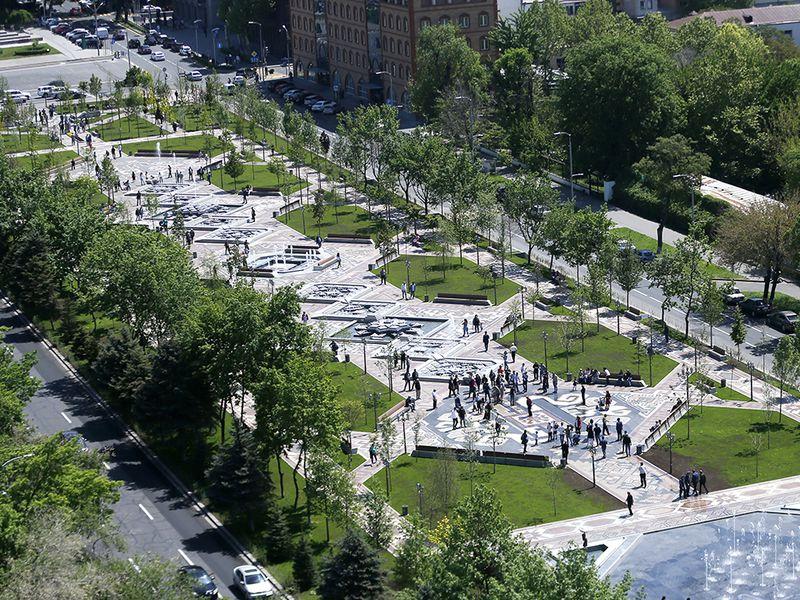 Парки Еревана, или тысяча иодин фонтан - экскурсия в Ереване