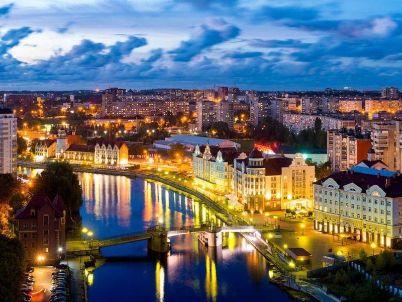 Атмосфера ночного Кёнигсберга - экскурсия в Калининграде