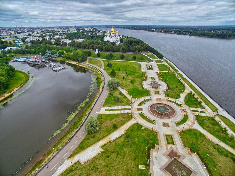 Ярославль пешком - экскурсия в Ярославле