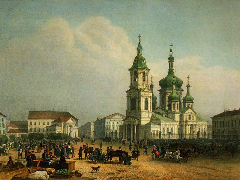 Площадь Вселенной— Сенная - экскурсия в Санкт-Петербурге