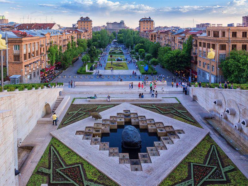 За что полюбить Ереван - экскурсия в Ереване