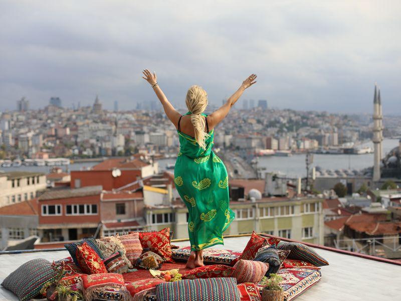 Восточная сказка»: фотосессия на крыше - экскурсия в Стамбуле