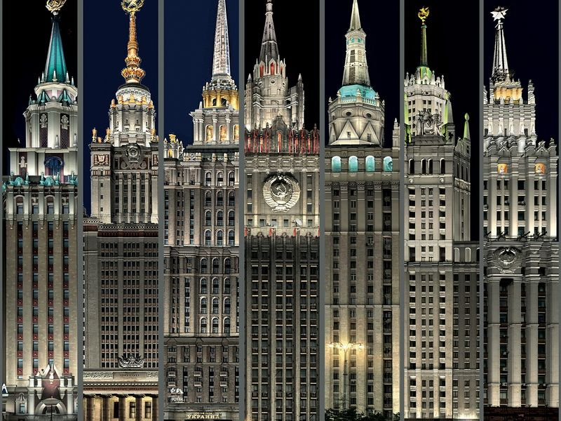 Легенды и мифы сталинских высоток - экскурсия в Москве