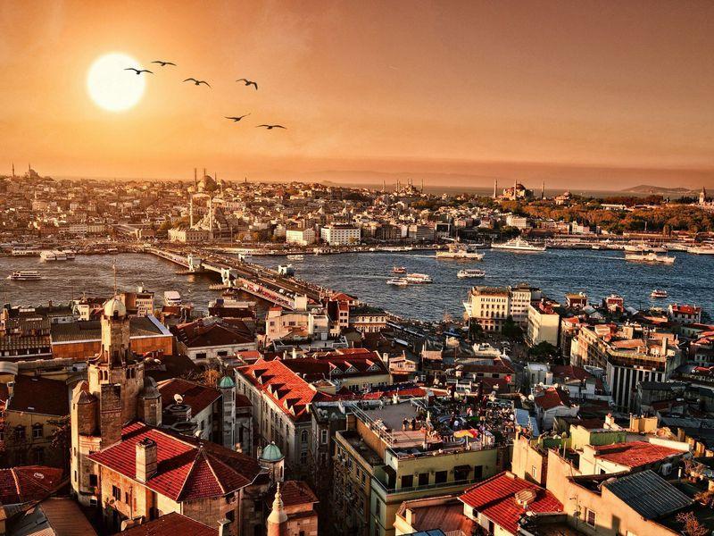 Очарование вечернего Стамбула - экскурсия в Стамбуле