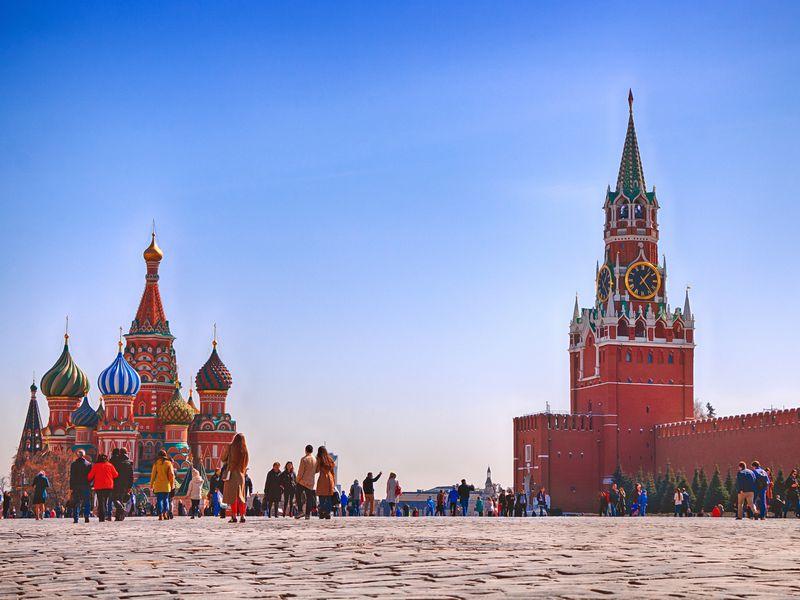 Красная площадь ипарк Зарядье - экскурсия в Москве