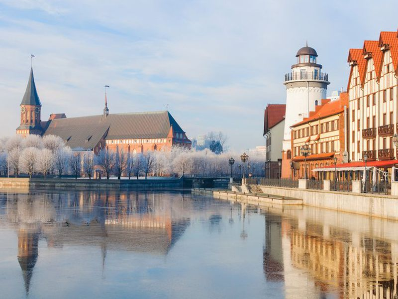 Вечерняя экскурсия по Калининграду с дегустацией прусского напитка - экскурсия в Калининграде