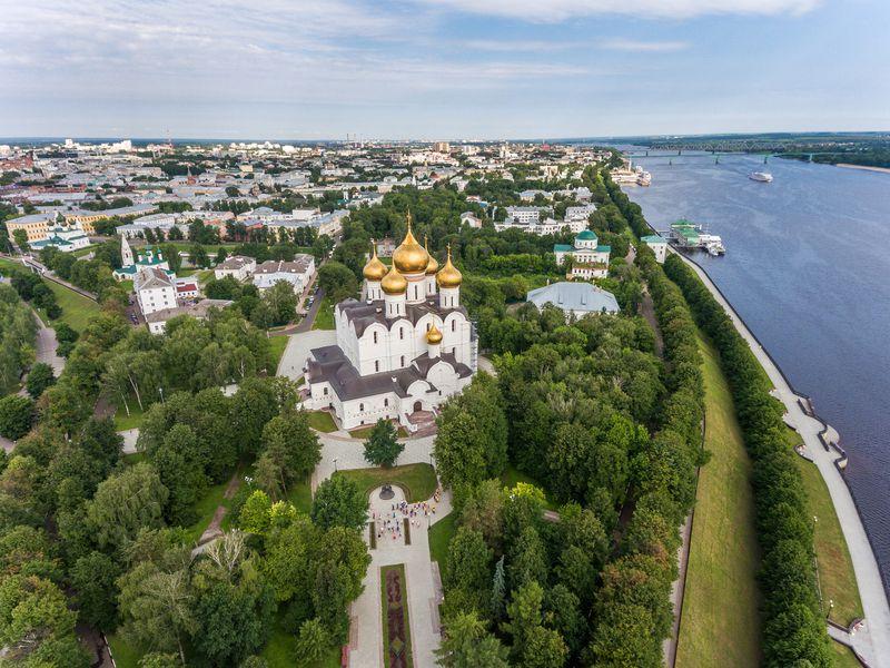 Теплая встреча с Ярославлем - экскурсия в Ярославле