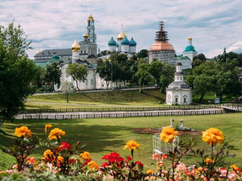 Из Москвы в дивный Сергиев Посад - экскурсия в Москве