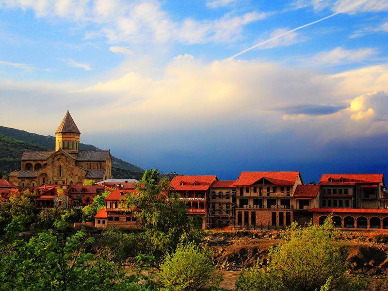 Город-музей Мцхета и средневековый замок Ананури - экскурсия в Мцхете