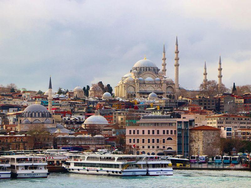 3в1: дворец Долмабахче, Цистерна Базилика и мечеть Сулеймание - экскурсия в Стамбуле