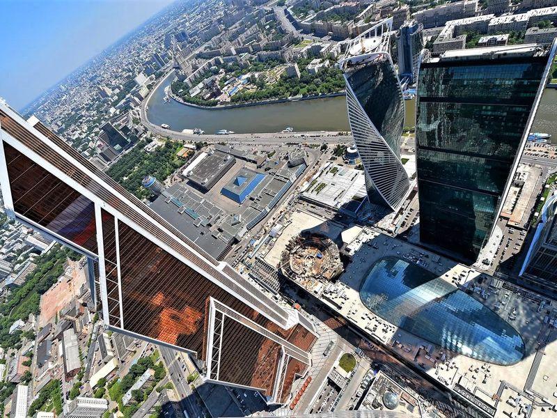 Билеты на открытую смотровую площадку Москва-Сити с экскурсией - экскурсия в Москве