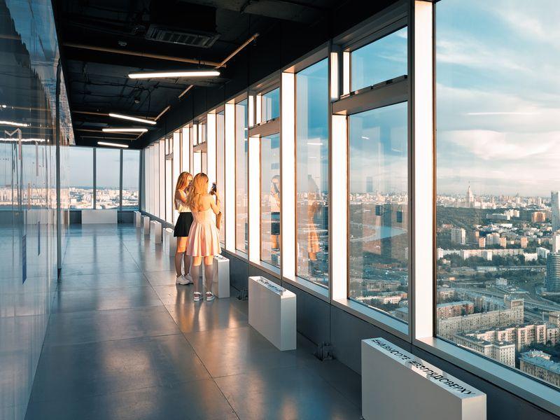 Музей Москва-Сити: 56 этаж с панорамным видом - экскурсия в Москве