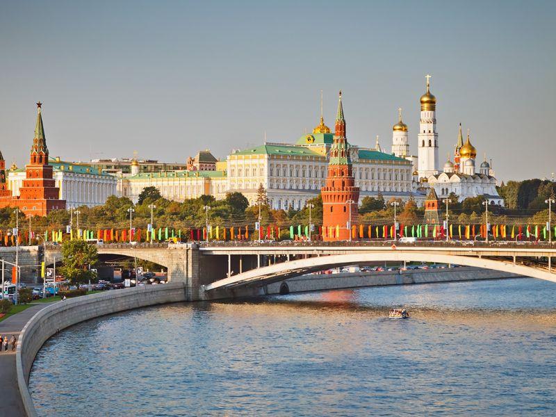 Классическая обзорная экскурсия по Москве на автобусе - экскурсия в Москве