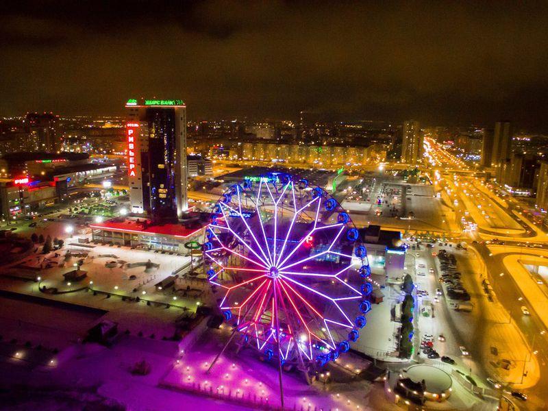 Ночная Казань с разных ракурсов - экскурсия в Казани