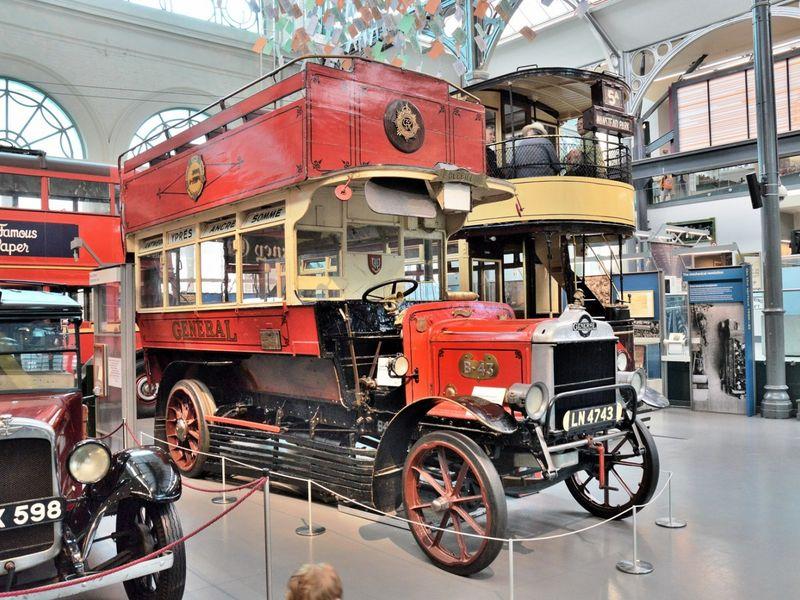 Лондон от омнибуса до автобуса - экскурсия в Лондоне